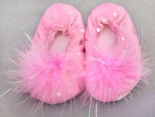 New Wholesale   6Pc Girls Dance Wear   Princess Plush Pink Purse