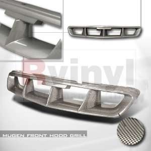 Honda Civic Coupe Sedan Hatchback 1996 1997 1998 Grille Mugen   Carbon