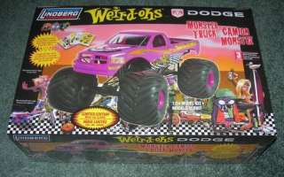LINDBERG LARGE 1/24 DODGE MONSTER TRUCK MODEL KIT 73018