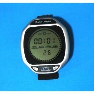 digital pocket altimeter compass & barometer: Sports & Outdoors