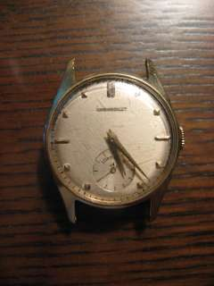 OLD LORD ELGIN CHEVROLET MENS WATCH 21 Jewels 14K GOLD