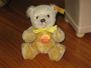 Steiff Dolly Teddy Bear 030673 Button   Tag   Shield