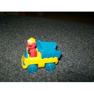 Sesame Streets Elmo Dump Truck Diecast Everything Else