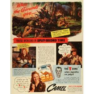 World War II Battle Guns Commando   Original Print Ad Home & Kitchen
