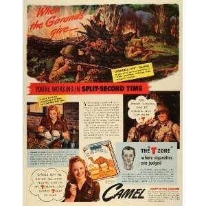 World War II Battle Guns Commando   Original Print Ad