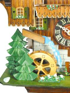 Cuckoo Clock Black Forest Railway Line 1 Day Music NEW