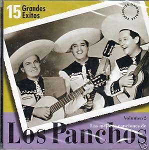 LOS PANCHOS/15 GRANDES EXITOS (GIL, NAVARRO,AVILES) CD