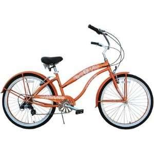 Greenline Bicycles BC 706(L) orange Ladies 26 Seven Speed