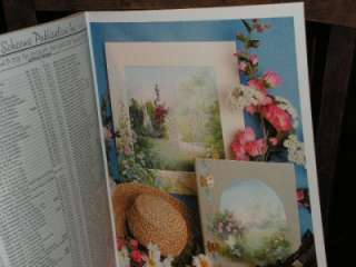 Ros Stallcup Grans Flower Garden  Traceable ART BOOK