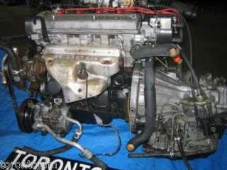 TOYOTA 91 94 TERCEL PASEO 4E FE 1.5L ENGINE+TRANS SWAP