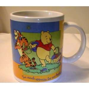 Disney Winnie the Pooh Too Much Appetite for One Basket