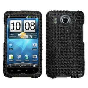 Black Beling Diamante Protector Cover Case for HTC Inspire