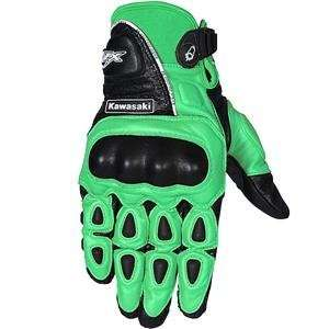 Joe Rocket Kawasaki Z Moto Gloves   X Large/Green/Black