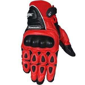 Joe Rocket Kawasaki Z Moto Gloves   X Large/Red/Black