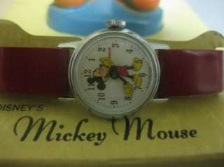 Timex Disney Mickey Mouse Character Watch w/Figurine