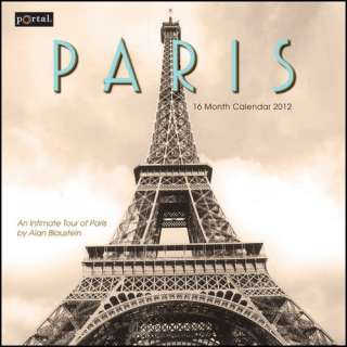 Paris 2012 Wall Calendar 1936252740