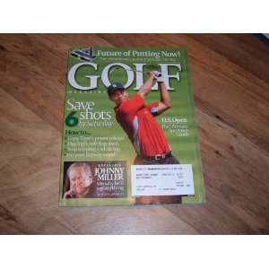 issue Tiger Woods June 2007 issue Tiger Woods Golf Magazine Books