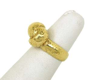 DESIGNER TIFFANY & CO. 18K GOLD LADIES KNOT BAND RING