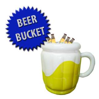 Inflatable Beer Bucket Cooler Party Beverage Tub Ice