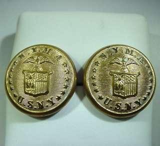 NEW YORK MILITARY ACADEMY N.Y.M.A / U.S.N.Y UNIFORM BUTTONS