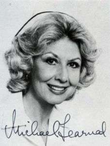 MICHAEL LEARNED SIGNED original AUTOGRAPHED The Waltons