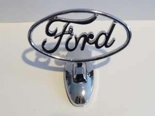 Ford Truck Chrome Hood badge emblem 3D Front F150 F250