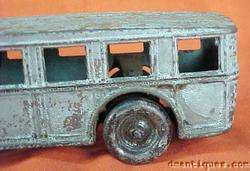 Antique Cast Iron Arcade Fageol Coach Bus