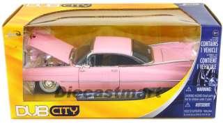 JADA DUB CITY 124 1959 CADILLAC COUPE DE VILLE PINK