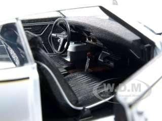 1969 PONTIAC GTO JUDGE WHITE 124 DIECAST CAR MODEL