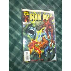 tHE iNVINCIBLE IRON MAN TOTAL CONTROL  #13 FEB. 1999