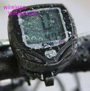 Wireless LED bike Computer Speedometer Odometer