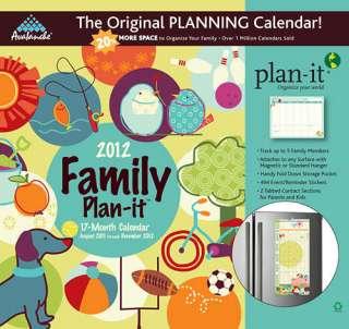 Family Plan It 2012 Magnetic Mount Wall Calendar 1606775928