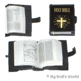 BIBLE REAL TEXT INSIDE FIT AMERICAN GIRL DOLL SAMANTHA