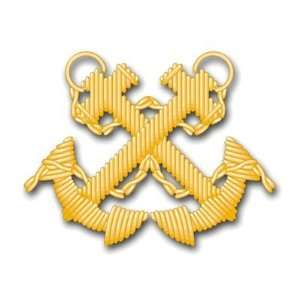 US Navy Boatswain Decal Sticker 3.8