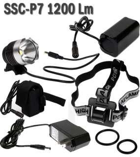 SSC P7 1200 Lum LED Bicycle bike Head Light Lamp