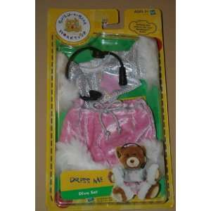 Build A Bear Workshop Dress Me Diva Set: Toys & Games