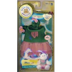 Build a bear Workshop Dress Me Flower Fairy Set: Toys & Games