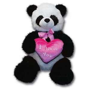Large 30 Valentine I Love You Panda Teddy Bear Plush