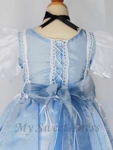 Girl Cinderella Princess Costume Dress Size 1   Pageant Birthday Party