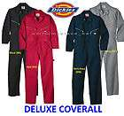 more options dickies deluxe coverall long sleeve black blue gray