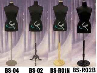 Mannequin Manequin Manikin Dress Form #F14/16BK+BS 04
