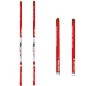 FISCHER JUPITER CONTROL CROSS COUNTRY SKIS Sports