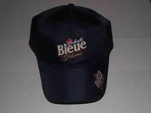 NEW LABATT BLUE BLEUE NYLON HAT CAP FRENCH LOGO