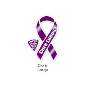 Cure Lupus 8 Ribbon Car Magnet: Automotive