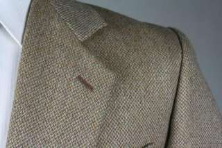 Vintage Giorgio Armani Le Collezioni Brown TWEED Wool Jacket/Blazer 42