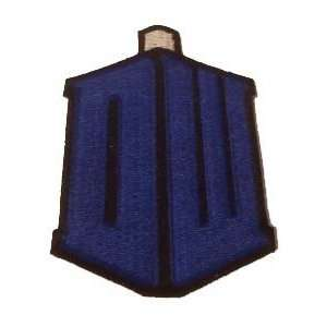 Doctor Who TARDIS New Logo Iron on Patch: Everything Else
