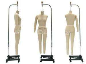 Professional dress form Mannequin Full Size 4 + Arm