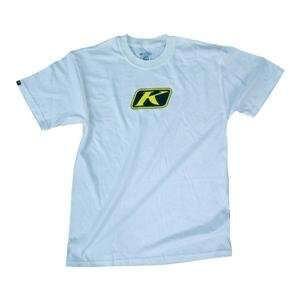 Klim Eat More Jerky T Shirt   XX Large/White Automotive