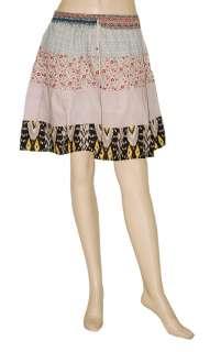 Bollywood Indian Gypsy Hippie Mini Skirt Dress Size 16