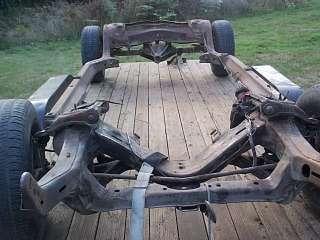 1968 Pontiac Bonneville convertible frame 68